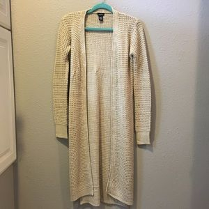 Rue 21 Ankle Length Knit Cardigan